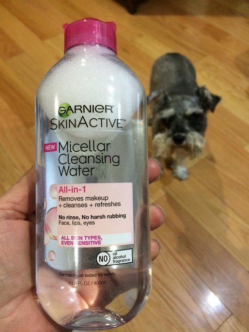 Garnier Skinactive Micellar Cleansing Water All-in-1 Makeup Remover & Cleanser 3 oz uploaded by Cathy K.
