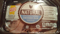 Oscar Mayer Natural Applewood Smoked Uncured Ham Cold Cuts 14 oz. Tray uploaded by Christina G.