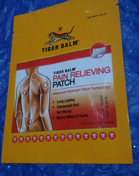 Photo of Tiger Balm Pain Relieving Patch uploaded by Marionette D.