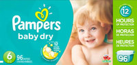 Pampers Baby Dry Diapers uploaded by Jessica W.