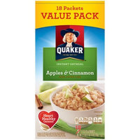 Quaker™ Apples & Cinnamon Instant Oatmeal uploaded by roselle m.