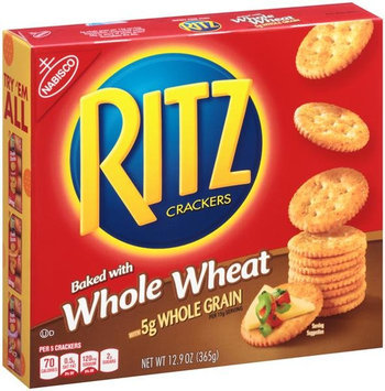 Photo of Nabisco RITZ Whole Wheat Crackers uploaded by roselle m.