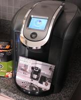 Keurig - 2.0 K450 4-cup Coffeemaker - Black/silver uploaded by Kelsey H.