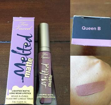 Too Faced Melted Matte Liquified Long Wear Matte Lipstick uploaded by Elana D.