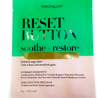 Peach & Lily Reset Button Sheet Mask uploaded by Bree M.