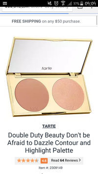 Photo of tarte Double Duty Beauty Day/Night Eye & Cheek Palette uploaded by Jessica D.
