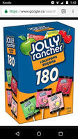 Jolly Rancher Fruit Chew Flavors Lollipops uploaded by Hardeep G.