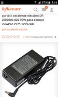 Superb Choice DF-LE09000-820 90W Laptop AC Adapter for Lenovo IdeaPad Z575 1299-36U uploaded by katherine s.