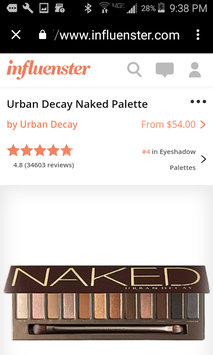 Urban Decay Naked Palette uploaded by Leigh P.