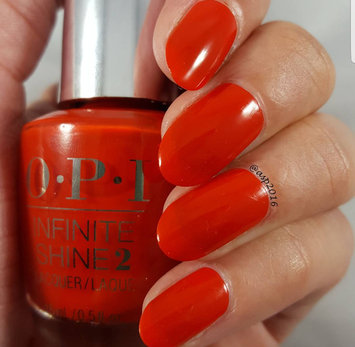Photo of OPI Infinite Shine Nail Lacquer, Can't Tame a wild Thing HRH47, 0.5 Fluid Ounce uploaded by Aparna A.