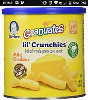 Gerber® Lil' Crunchies® Garden Tomato uploaded by Kayla J.