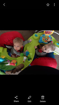 Photo of Evenflo ExerSaucer Triple Fun - Life in the Amazon uploaded by Emilee H.