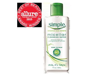 Simple® Micellar Water Cleanser uploaded by Summer B.