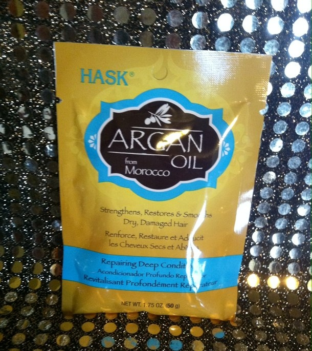 Hask Argan Oil Intense Deep Conditioning Hair Treatment uploaded by Jessicca S.