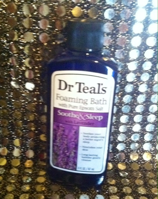 Dr. Teal's Foaming Bath, Soothe & Sleep with Lavender 34 fl oz uploaded by Jessicca S.