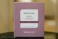 THANK YOU FARMER - Miracle Age Repair Cotton Mask 5pcs 25ml x 5pcs uploaded by Tess S.
