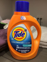 Tide Plus Coldwater Clean Liquid Laundry Detergent uploaded by Cathy K.