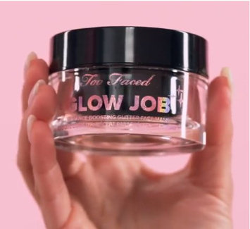 Photo of Too Faced Glow Job Radiance-Boosting Glitter Face Mask uploaded by Amanda F.