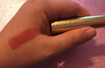 Too Faced La Crème Lipstick uploaded by Katie B.
