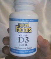 Natural Factors Vitamin D3 for Kids uploaded by Joani R.