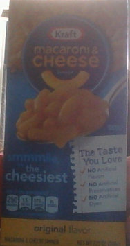 Kraft Macaroni and Cheese Original uploaded by Mariah S.