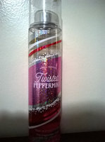 Bath & Body Works Bath and Body Works Twisted Peppermint Fine Fragrance Mist 2014 Design uploaded by Atasia B.