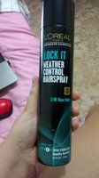 L'Oréal Paris Advanced Hairstyle Lock It Weather Control Hairspray, 8. uploaded by Milagros G.