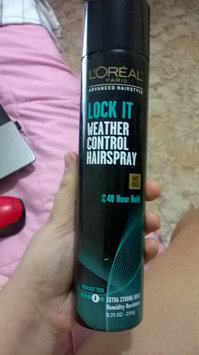 Photo of L'Oréal Paris Advanced Hairstyle LOCK IT Weather Control Hairspray uploaded by Milagros G.