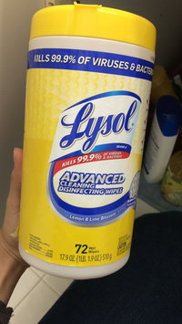 Photo of Lysol Dual Action Disinfecting Wipes uploaded by Ingrid S.