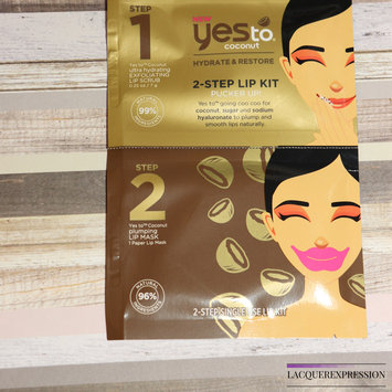 Photo of Yes To Coconut 2 Step Single Use Lip Kit Pucker Up uploaded by Charlene R.