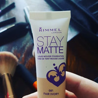 Rimmel Stay Matte Liquid Mousse Foundation uploaded by Bailey R.