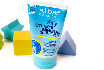 Photo of Alba Botanica Kids Mineral Sunscreen Fragrance Free Lotion uploaded by Katy K.
