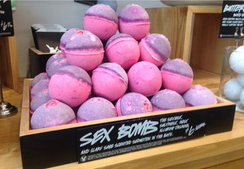 Photo of LUSH Sex Bomb Bath Bomb uploaded by Caitlin P.