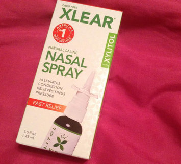 Photo of Xlear Sinus Care Nasal Spray, .75 Fl Oz uploaded by Candy S.