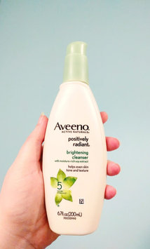 Aveeno Positively Radiant Cleanser uploaded by Sarah S.
