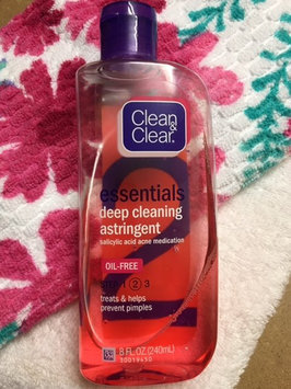 Photo of Clean & Clear® Essentials Deep Cleaning Astringent uploaded by Peggy A.
