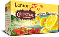 Celestial Seasonings® Lemon Zinger® Herbal Tea Caffeine Free uploaded by April M.