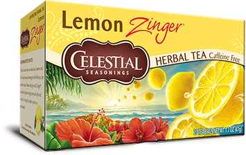 Photo of Celestial Seasonings® Lemon Zinger® Herbal Tea Caffeine Free uploaded by April M.