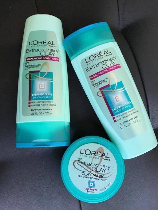 L'Oréal Extraordinary Clay Pre-Shampoo Treatment  Mask uploaded by Magaly O.