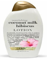 OGX® Nourishing Coconut Milk Hibiscus Lotion uploaded by Emmanuel G.