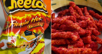 CHEETOS® Crunchy Flamin' Hot® Cheese Flavored Snacks uploaded by vanessa r.