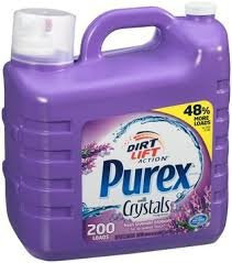 Photo of Purex® Dirt Lift Action® Fresh Lavender Blossom™ with Crystals Laundry Detergent 300 fl. oz. Jug uploaded by Christie T.