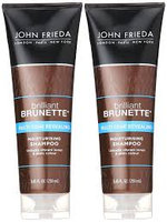 John Frieda Brilliant Brunette Multi-tone Revealing Moisture Shampoo for Natural or Highlighted Brunette uploaded by Amritjot R.