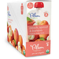 Plum Organics Second Blends Peach, Banana & Apricot uploaded by Jéssica S.