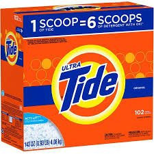 Photo of Tide Ultra Plus a Touch of Downy April Fresh Scent Powder Laundry Detergent 79 oz. Box uploaded by Christie T.