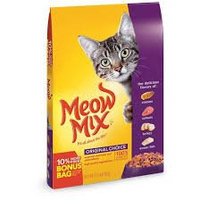 Meow Mix Original Choice Dry Cat Food, 17.6 pound uploaded by Christie T.