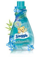 Snuggle® Exhilarations® Blue Iris & Bamboo Silk® Concentrated Fabric Softener 50 fl. oz. Bottle uploaded by Christie T.