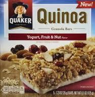 Photo of Quaker® Quinoa Granola Bars Fruit & Nut uploaded by angelica t.