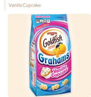 Pepperidge Farm Goldfish Grahams Vanilla Cupcake Graham Snacks uploaded by Christie T.