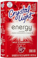 Crystal Light With Caffeine Wild Strawberry On The Go Drink Mix uploaded by Christie T.